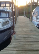 View Renovated pontoons
