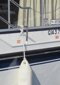 Boat at the Marina